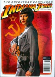 Indiana Jones Official Magazine #3 Previews Exclusive PX Variant (2008) RARE